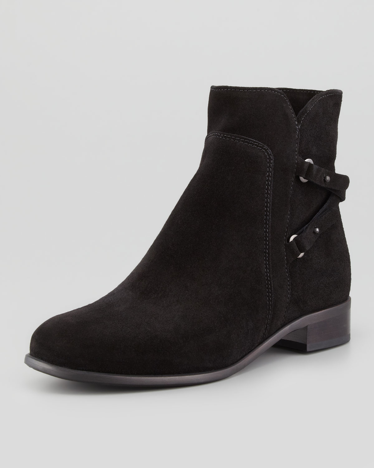 La Canadienne Sharon Suede Chelsea Boot Black Lyst