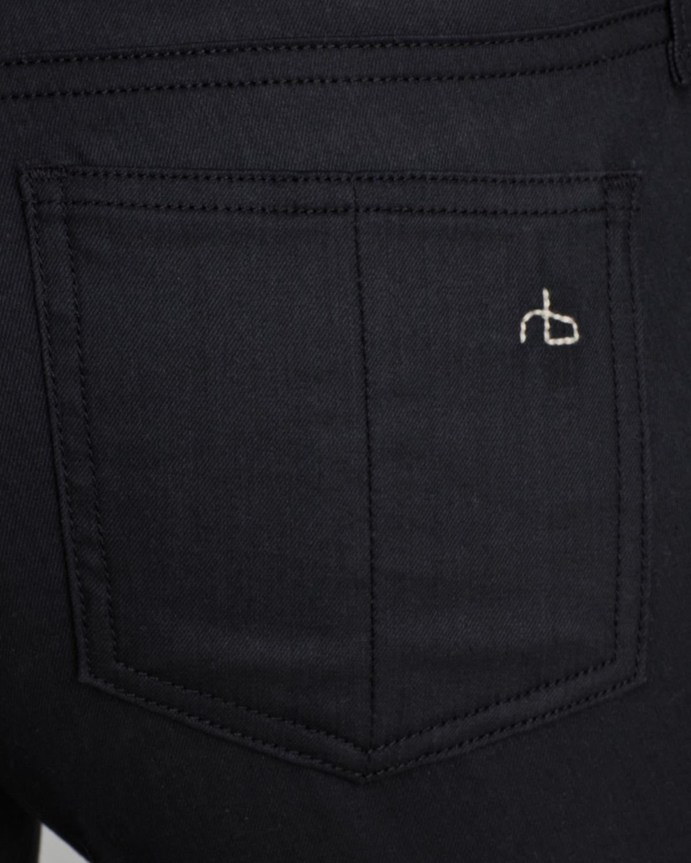 Rag & Bone Jeans Tassel Jean Legging In Shoreditch In