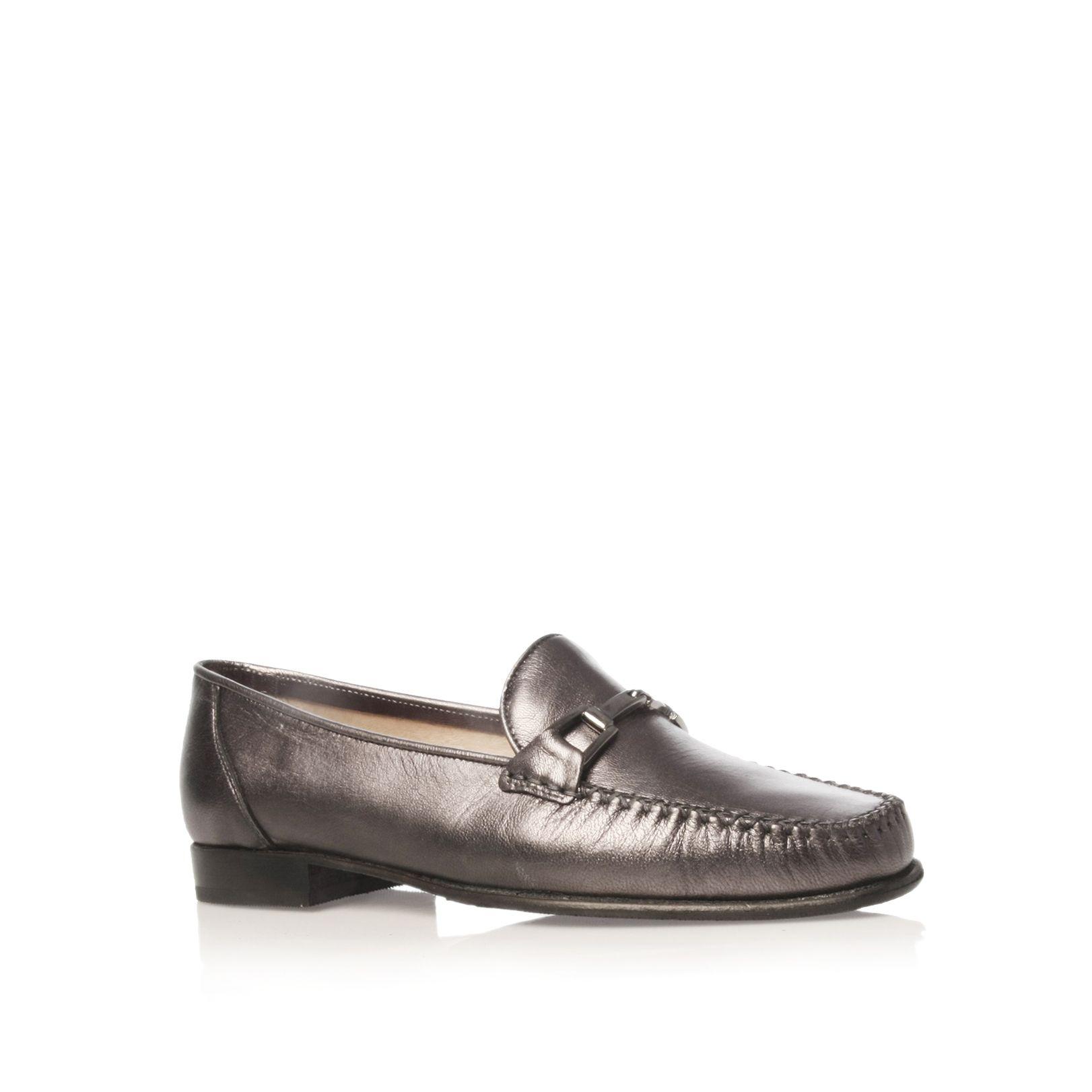 Carvela Kurt Geiger Mariner Loafer Shoes In Gray For Men | Lyst