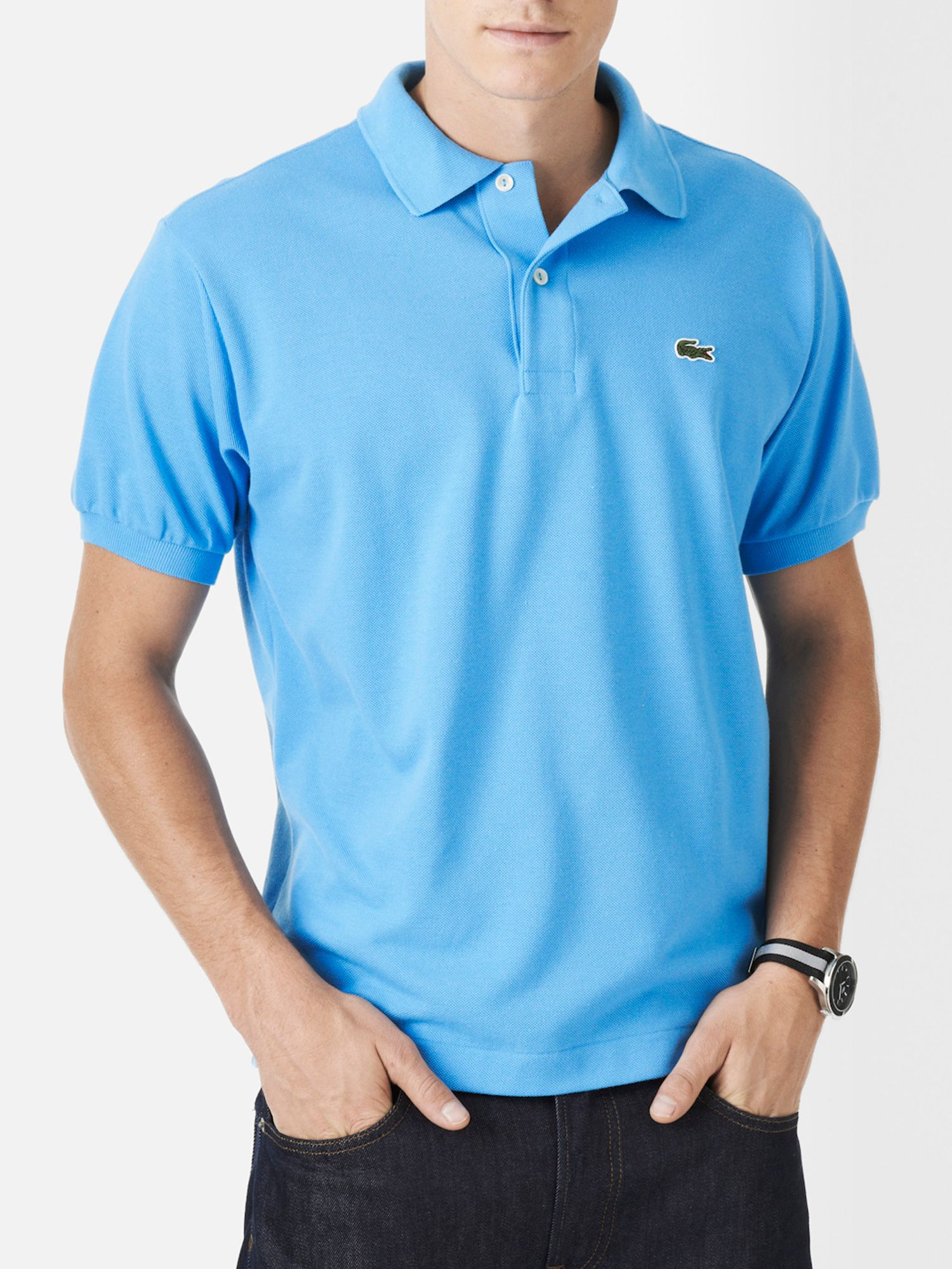 8a58766e734d Light Blue Polo Shirt Lacoste