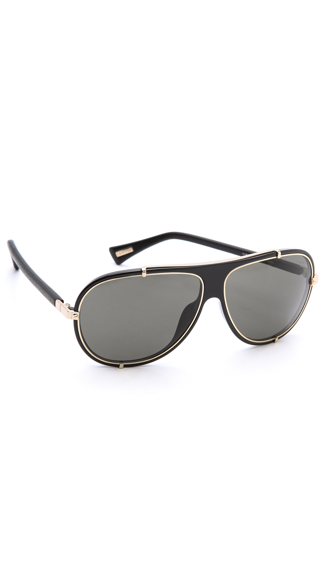 c2ba33fd0f07 Mens Aviator Sunglasses Black And Gold