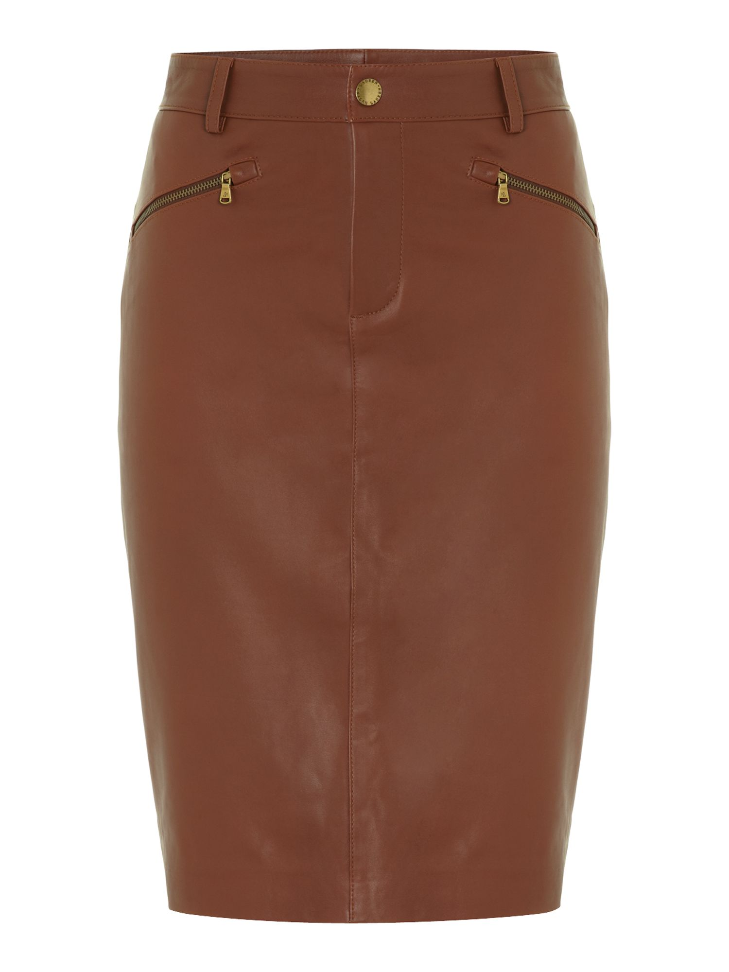 Pencil skirt with tan stockings 10