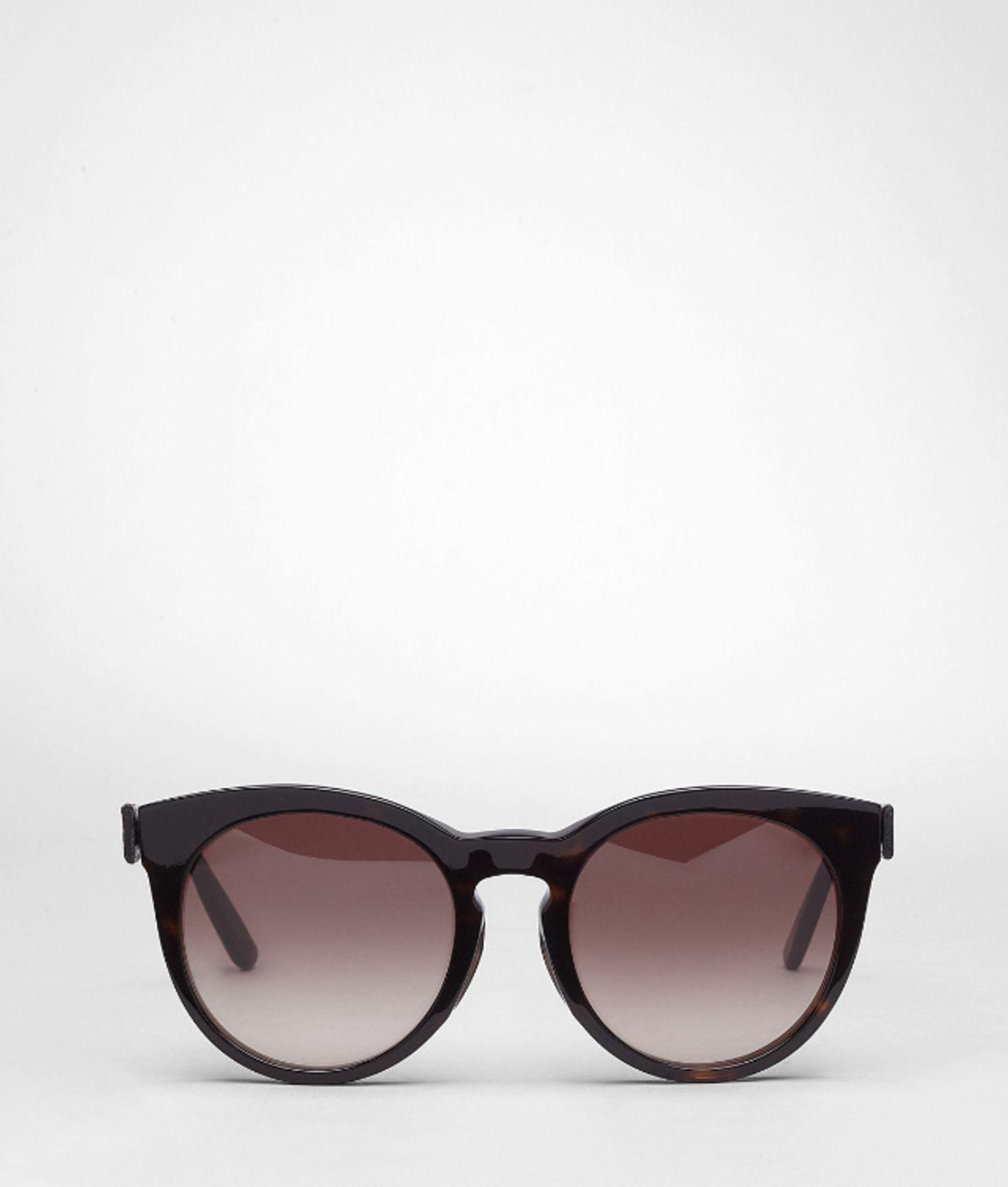 68dd883d94 Lyst - Bottega Veneta Havana Brown Shaded Acetate Eyewear Bv 253 Fs ...