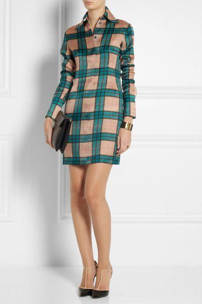 Silk-organza Mini Dress in