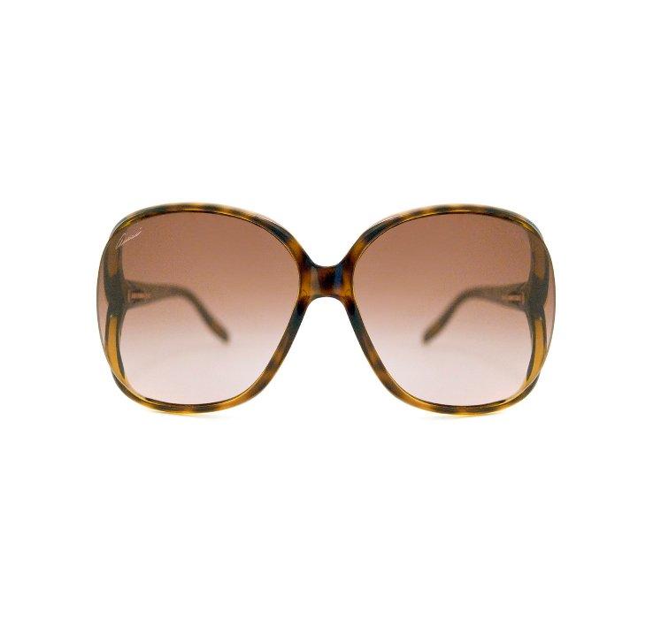 f90641cd86 Gucci Oversized Sunglasses Havana