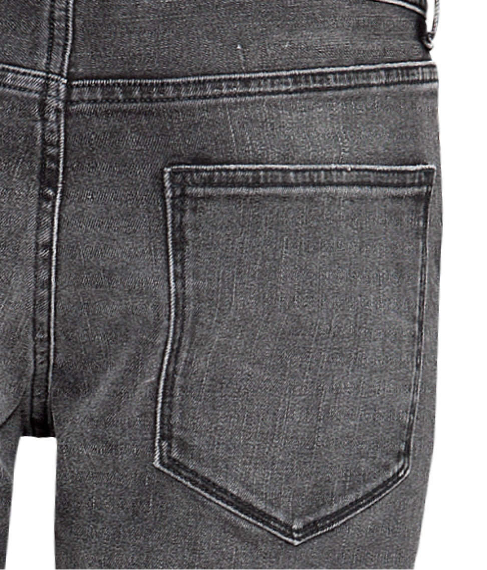 H&M Jeans Slim Fit in Black (Grey) for Men