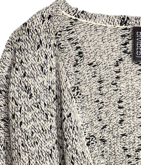 H&m Knitted Cardigan in