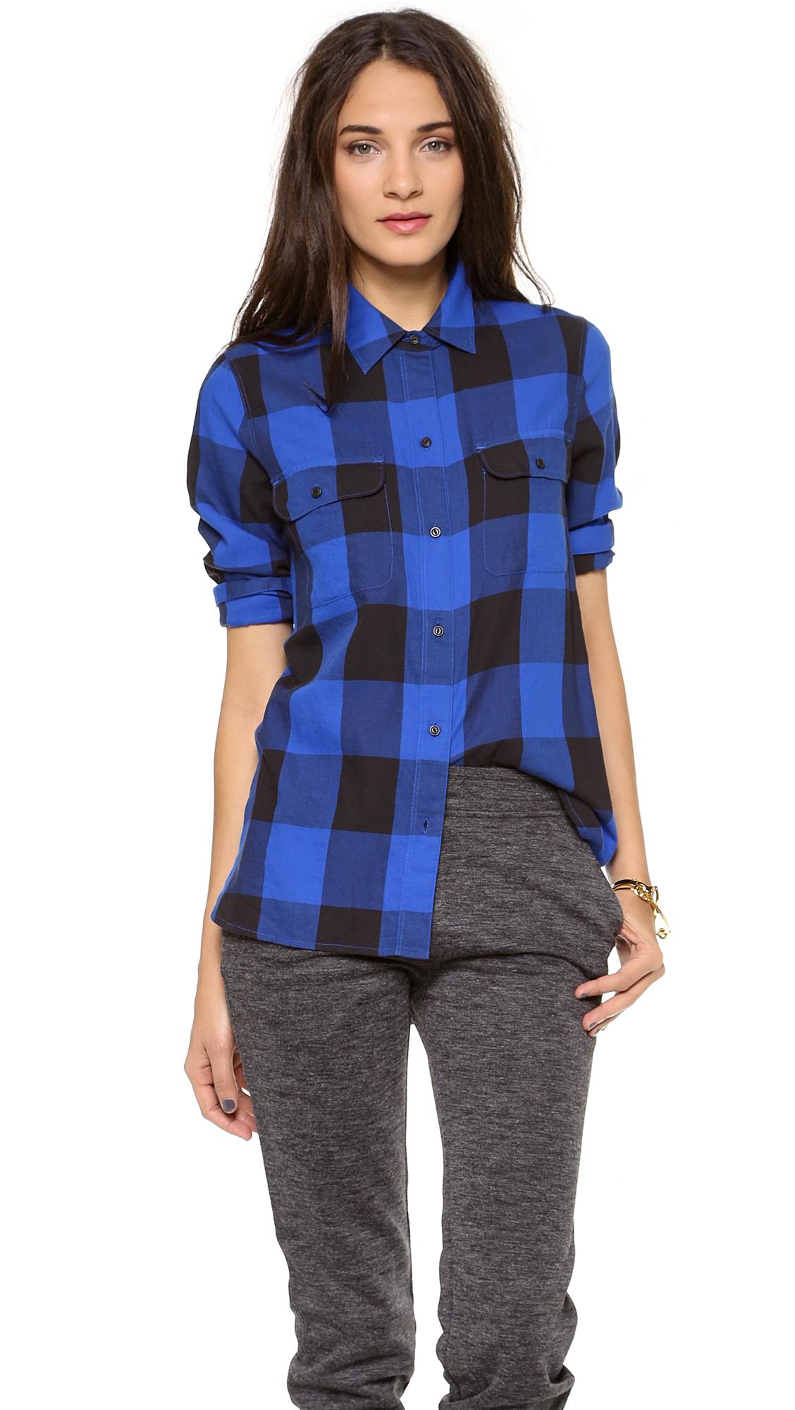 Women S Buffalo Plaid Shirt