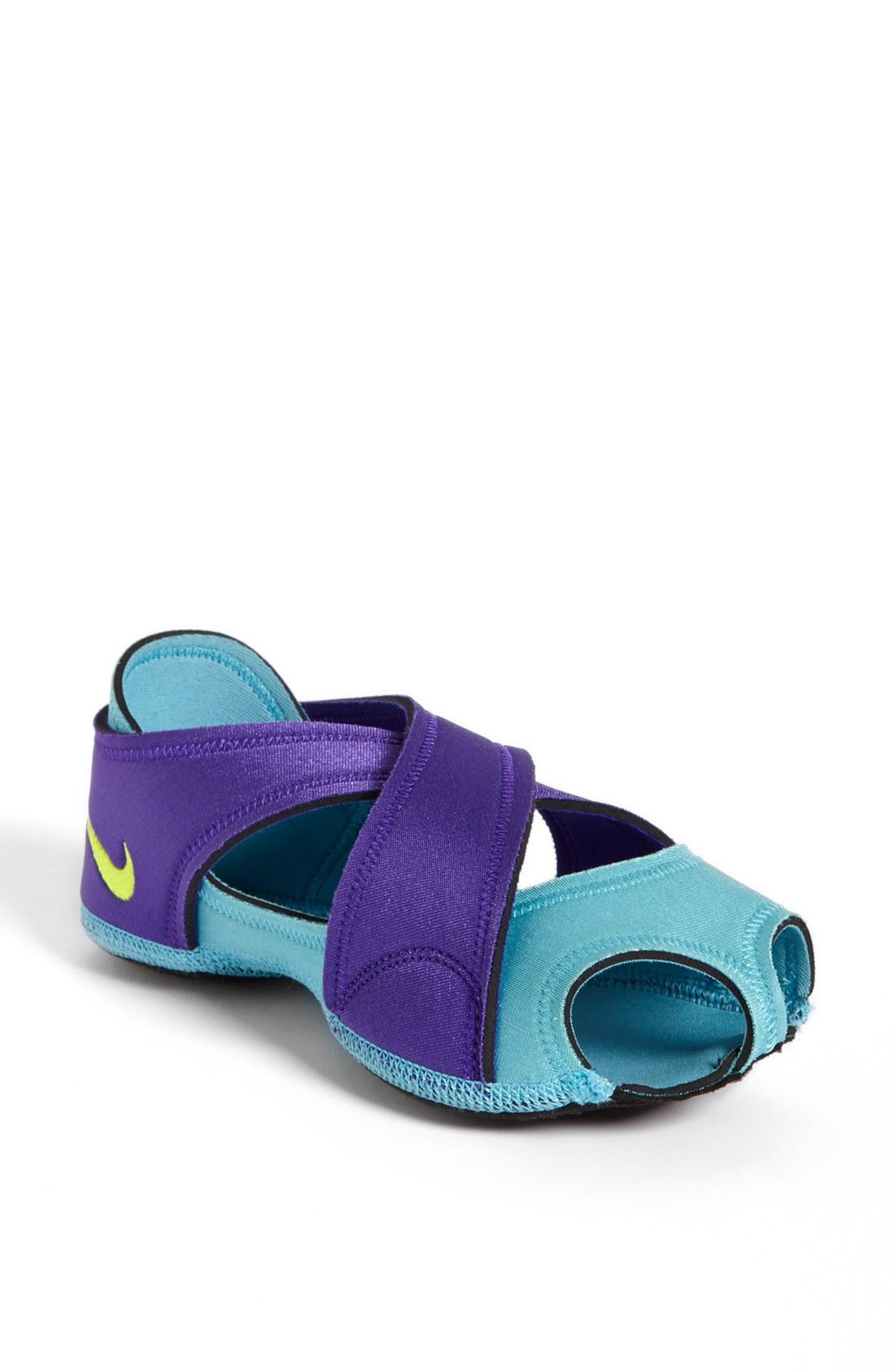 nike studio wrap training shoe in purple lyst