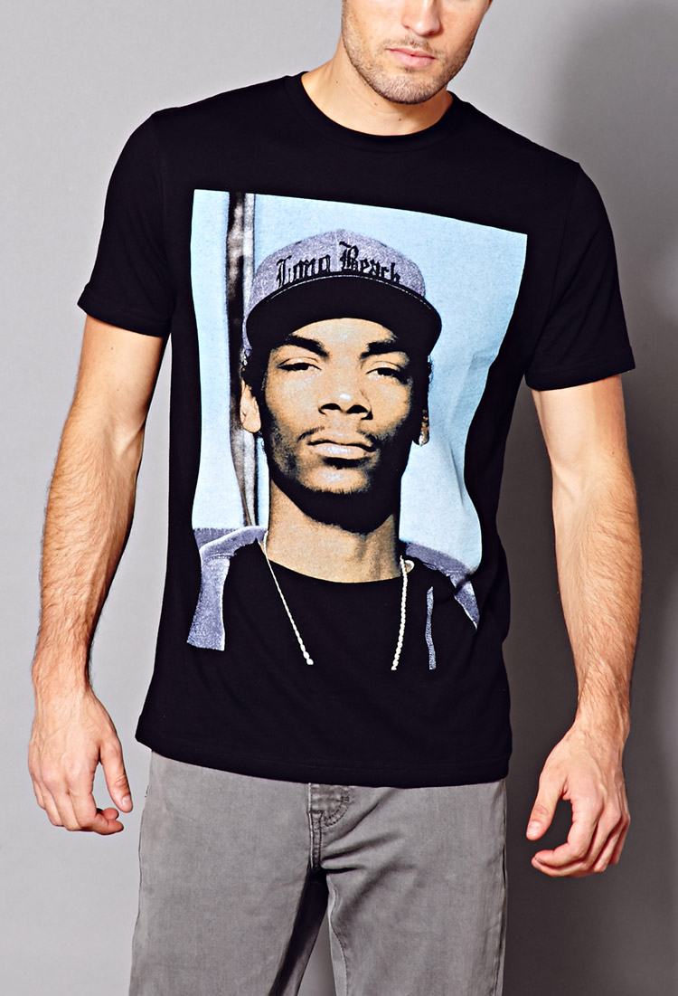 Forever 21 Snoop Dogg Tee In Blue For Men Lyst