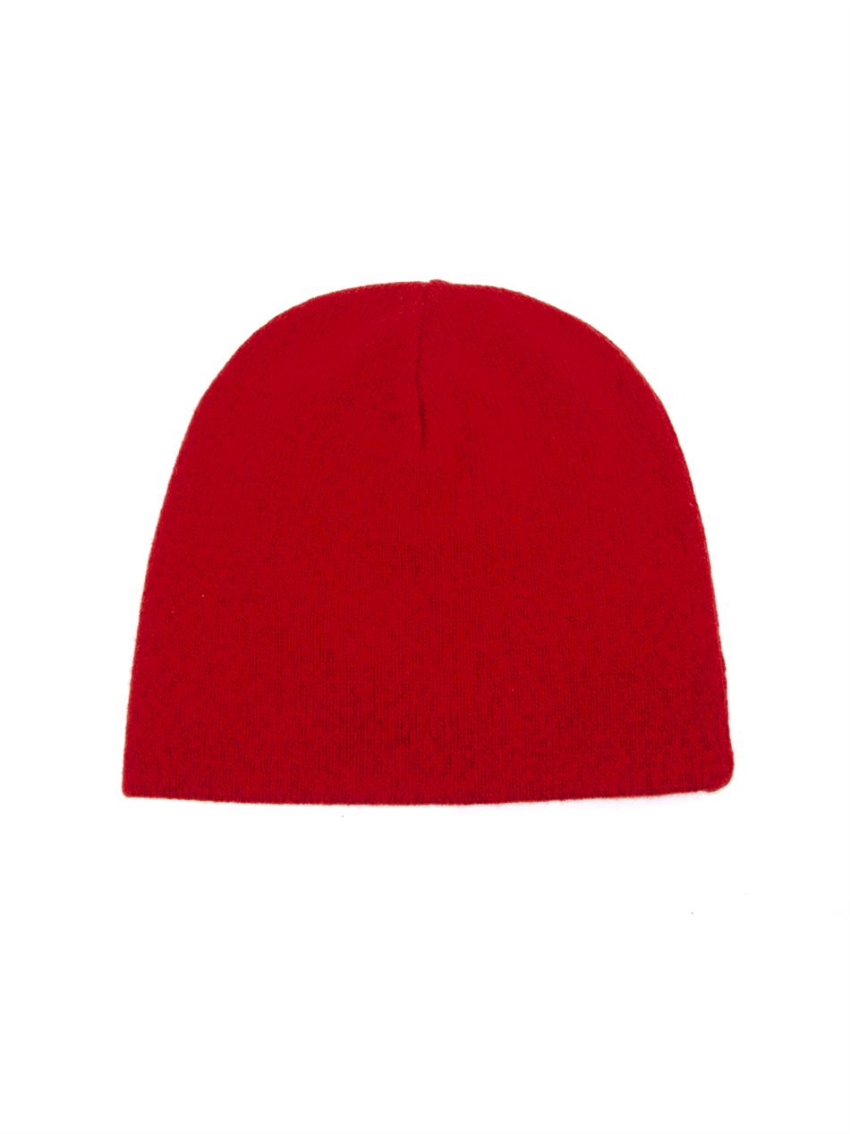 Lyst - AMI Wool Beanie Hat in Red for Men e6f2250d05a
