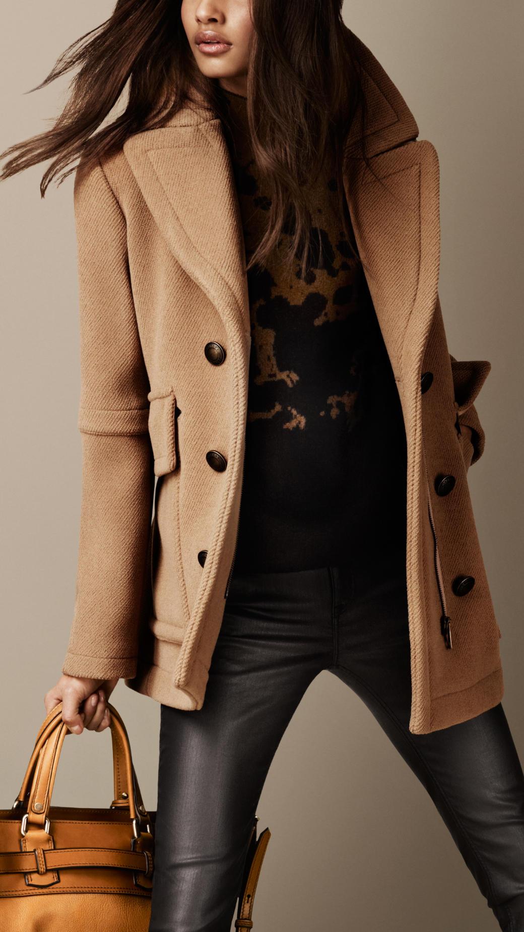 d9648490626 Gallery. Women s Peacoats Women s Teddy Bear Coats ...
