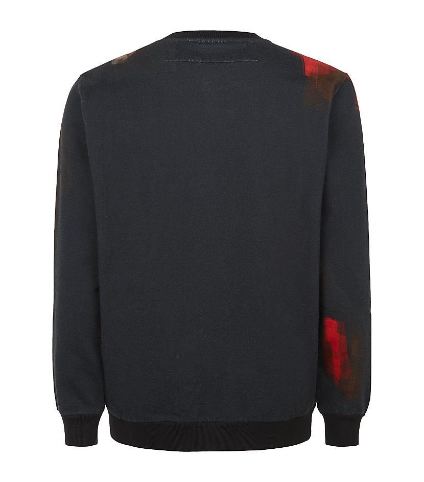 Givenchy Doberman Print Sweatshirt in Black for Men