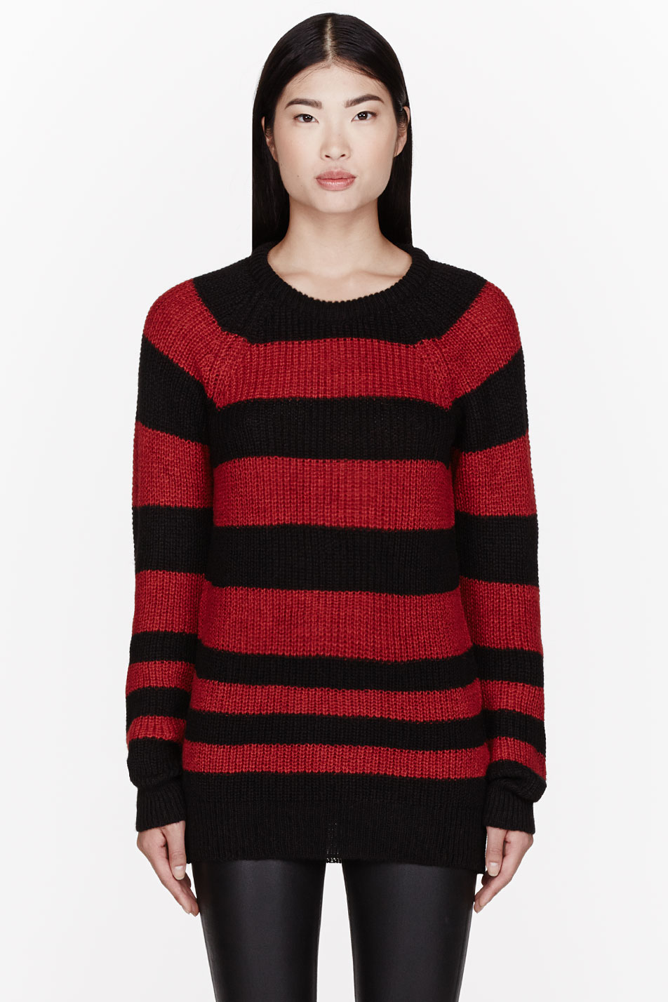 Kappa long sleeve stripe jumper in red & black. £ ellesse knitted jumper with bold block stripes. £ Lindbergh crew neck jumper with breton stripe in navy. £ Original Penguin tipped cuff textured crewneck knit jumper small logo in navy. £