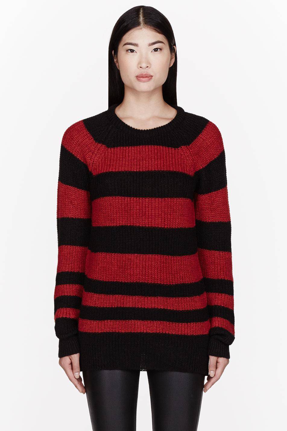 Red Tunic Sweater