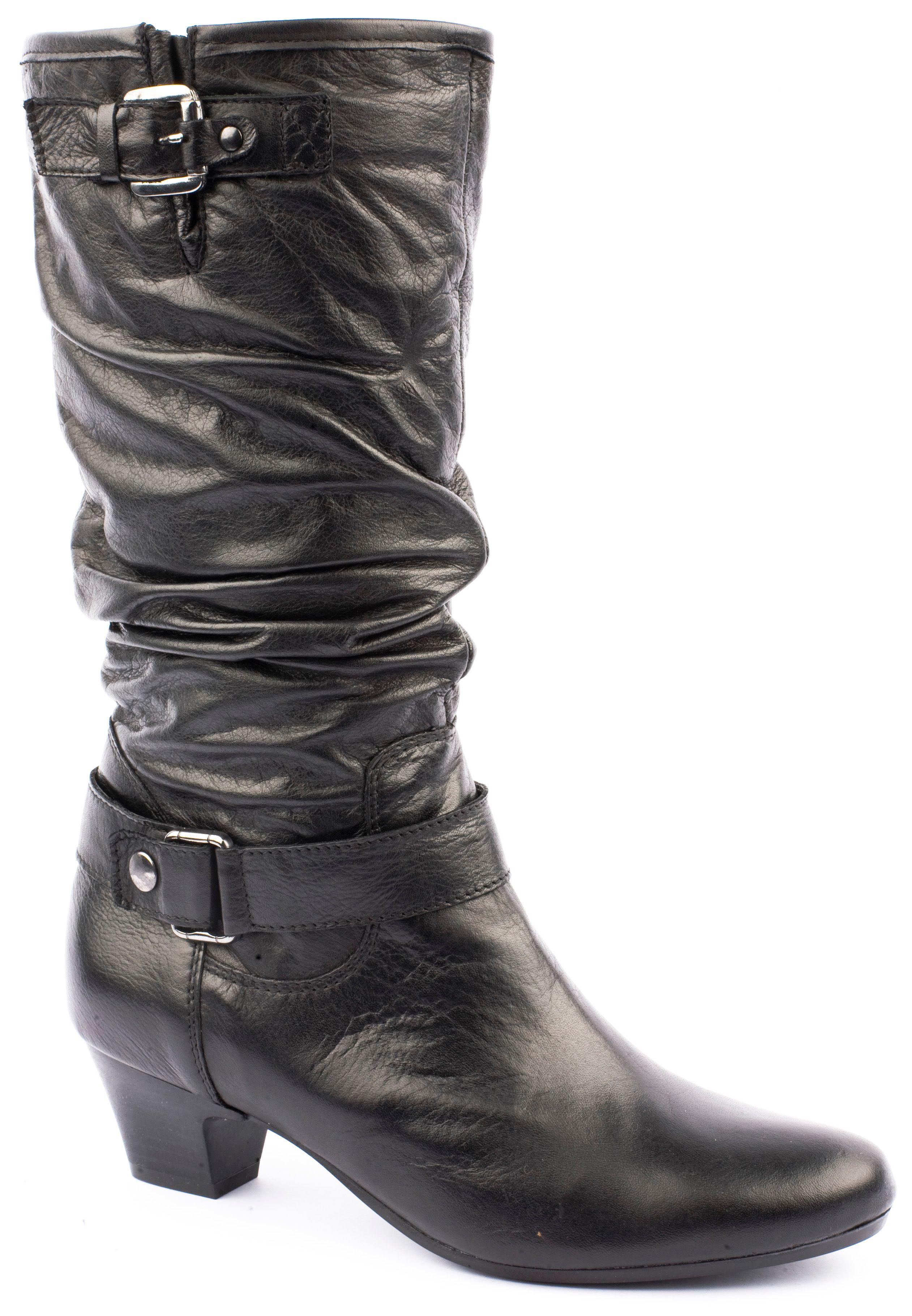jones bootmaker rupert knee high boots in black lyst