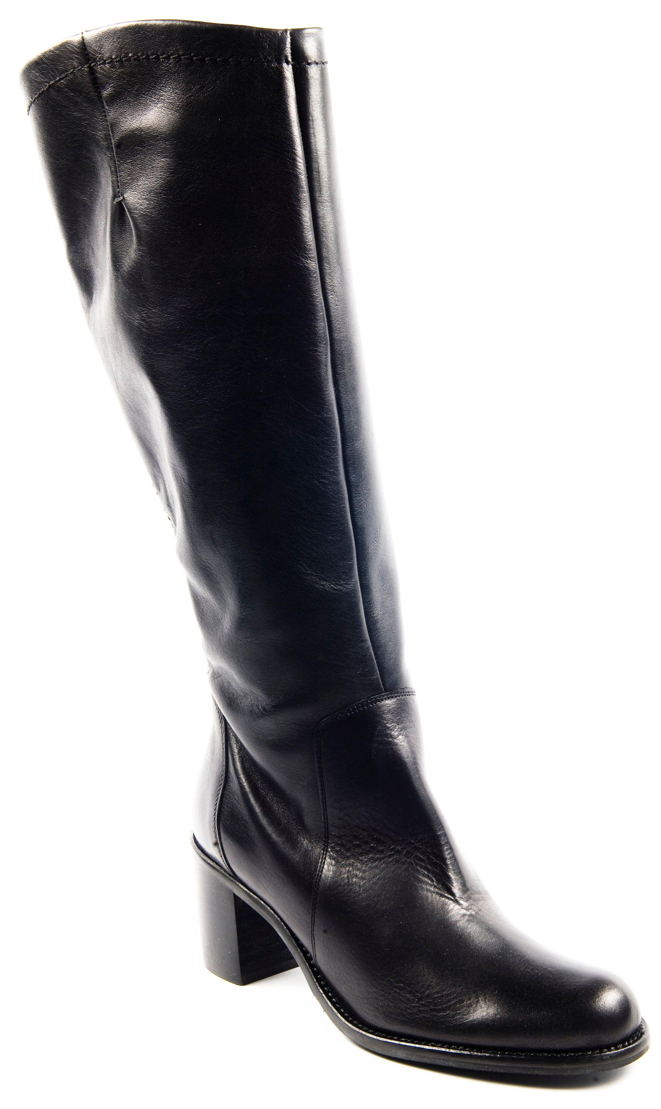 Jones Bootmaker Rye Long Boots in Black