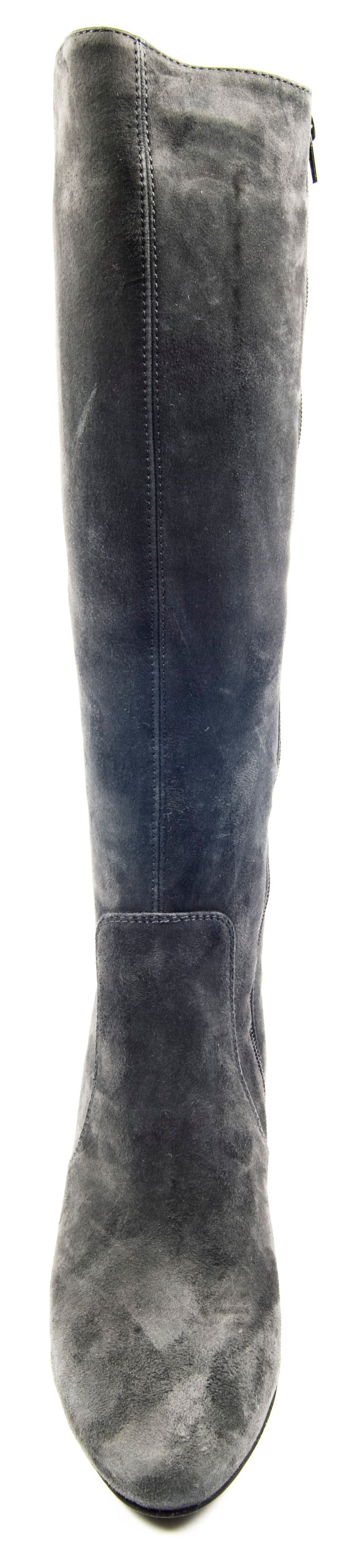 jones bootmaker remi knee high boots in gray lyst