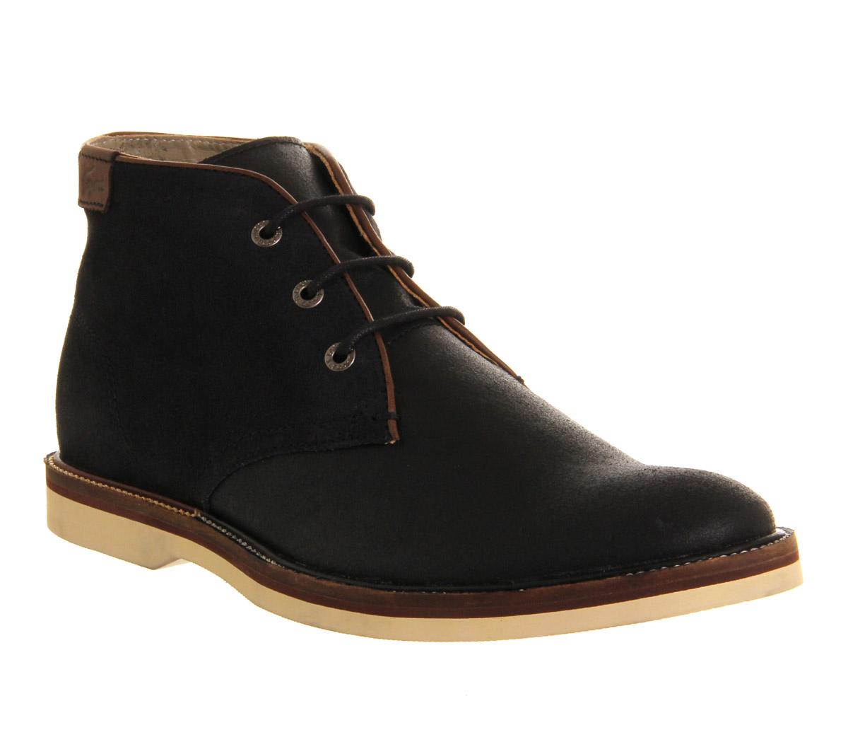 Lacoste Sherbrooke Boots In Black For Men Lyst
