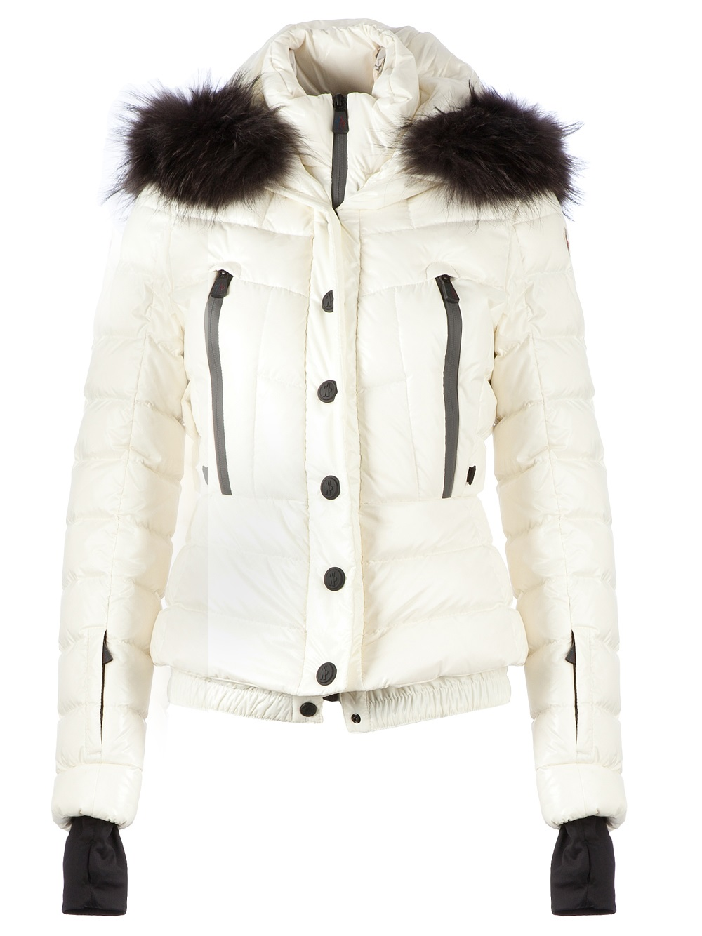 add55820f151 Bever Bever White Jacket Moncler In Lyst xYqpZBzfw