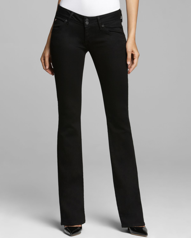 Hudson Jeans Beth Baby Boot In Black In Black Lyst