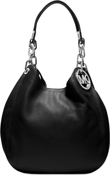 Closeout Michael Kors Blake Shoulder - Michael Kors Silver Shoulder Bag
