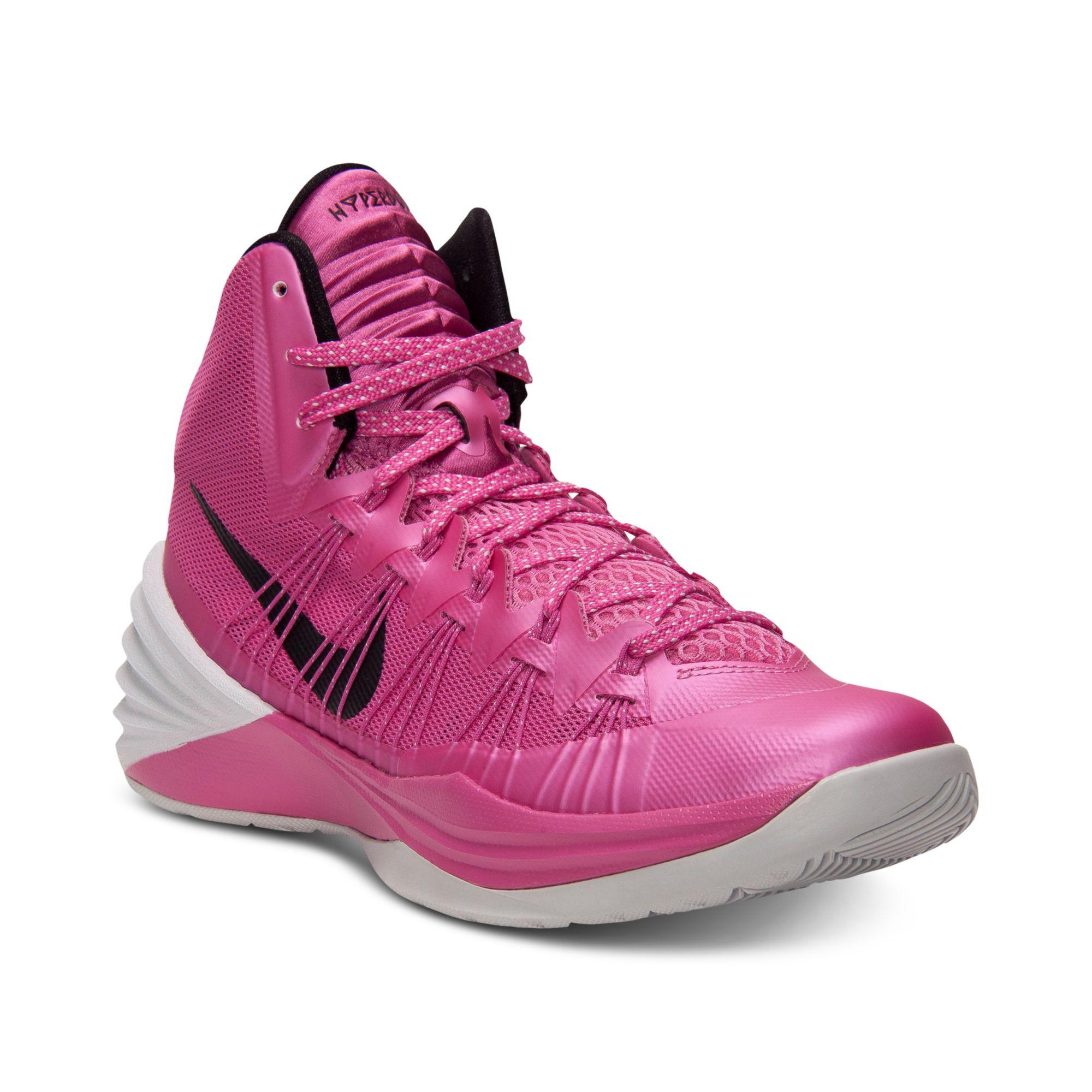 98ec48ee8f59 Lyst - Nike Hyperdunk Basketball Sneakers in Pink for Men