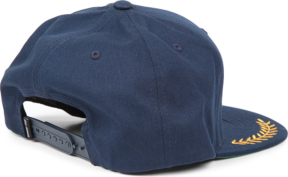 Undefeated Boss Snapback Cap in Blue for Men - Lyst 59b204820999