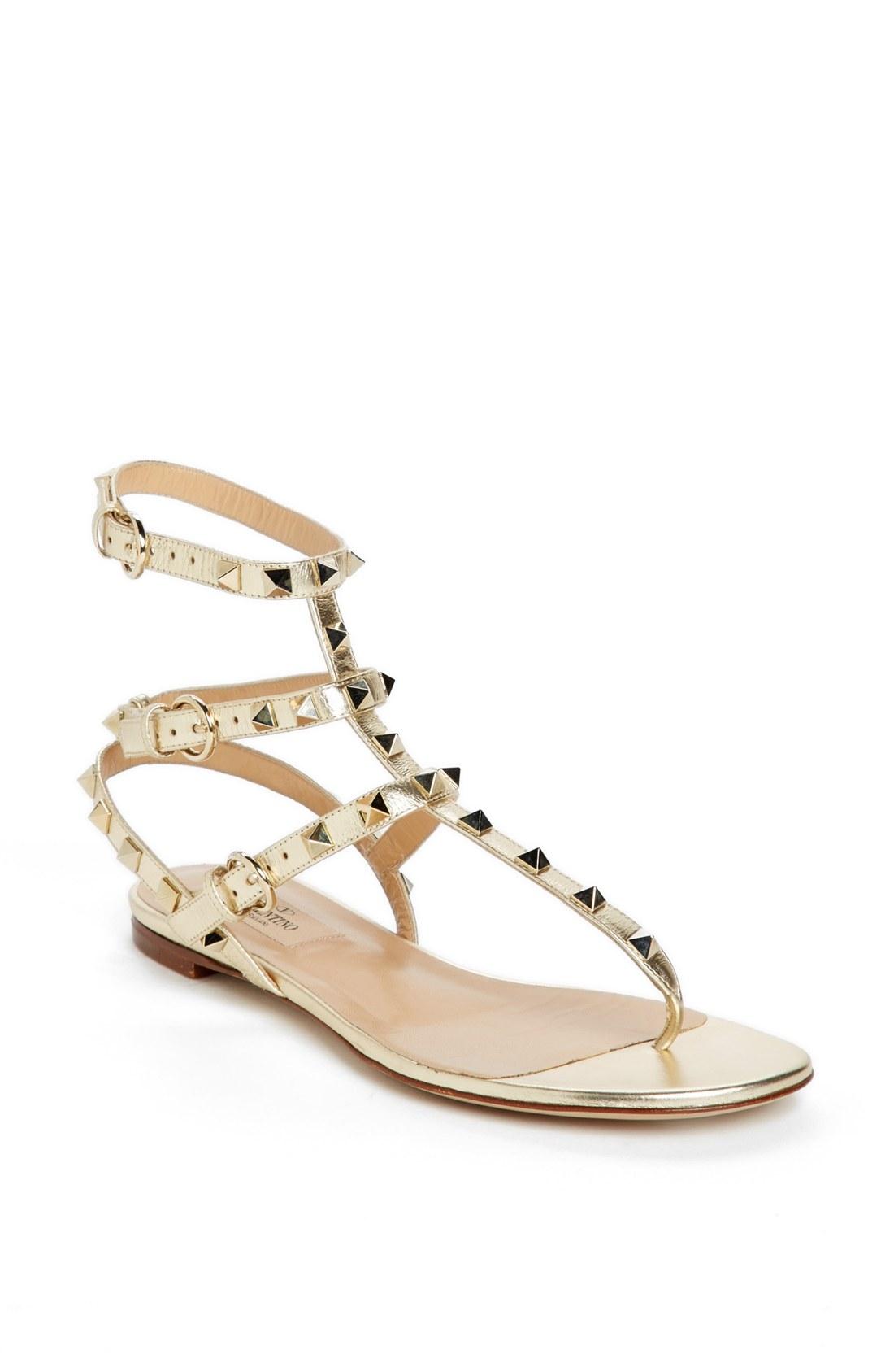 Triple buckle sandal flats shoejob 4