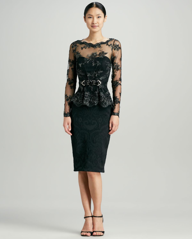 Peplum Cocktail Dresses