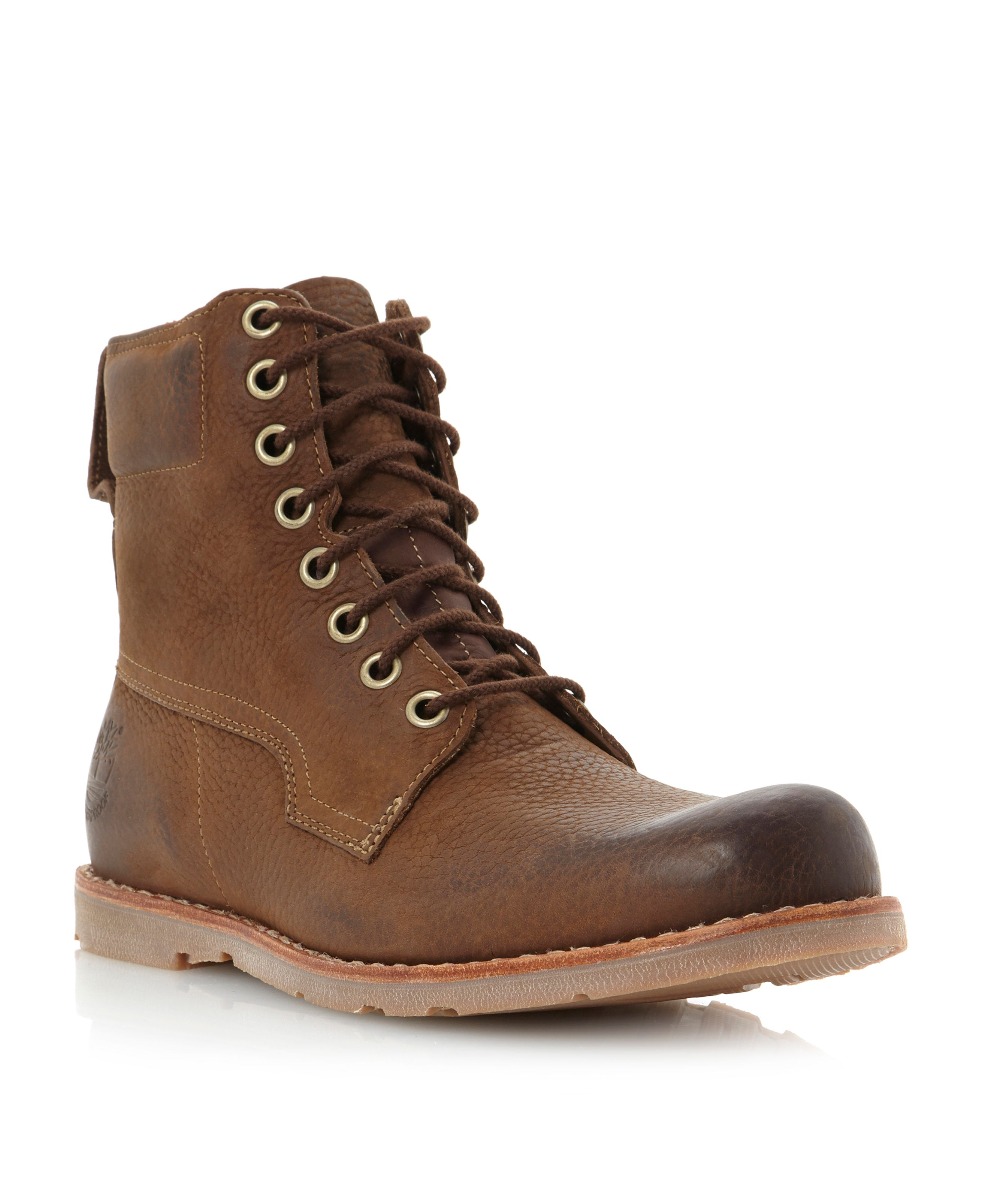 Timberland Rugged 6in Lace Up Boot In Brown For Men Lyst