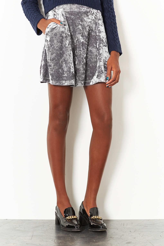 Grey Velvet Skirt Up To 73 Off In Stock