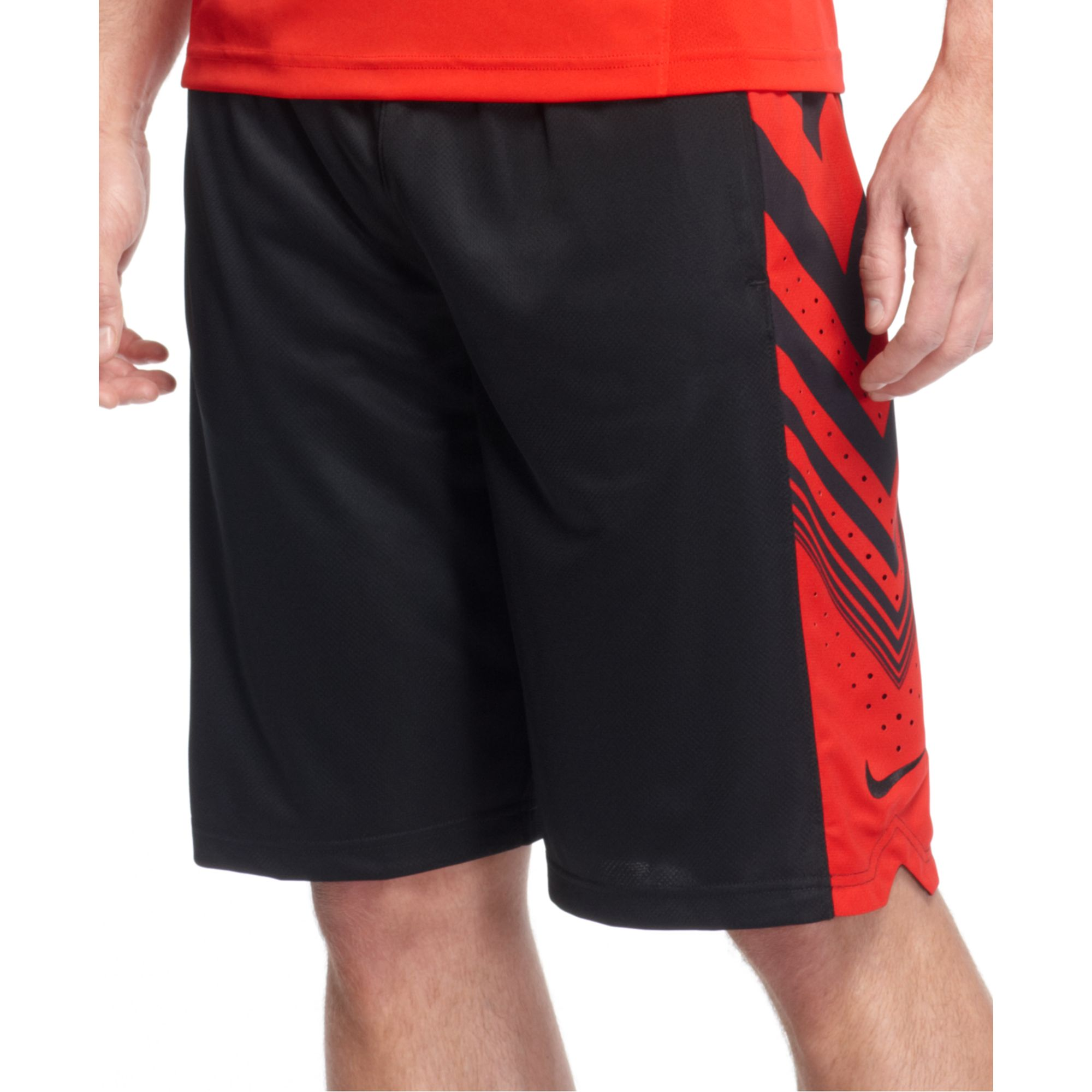 e90b943a03 Nike Sequalizer Basketball Shorts in Black for Men - Lyst