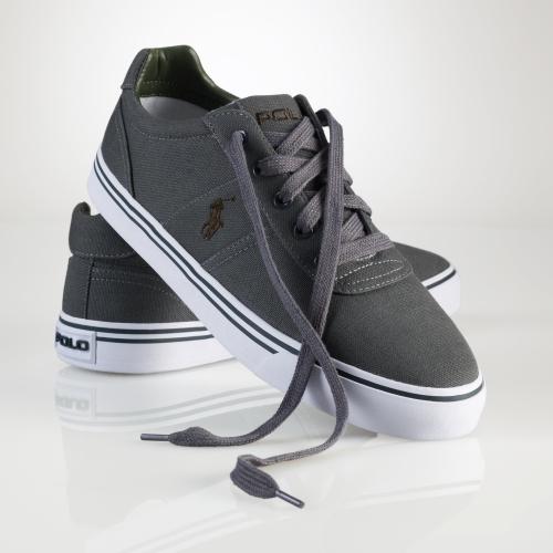Sneaker Men Canvas Gray Hanford For Polo Ralph Lauren yNn0vwm8O