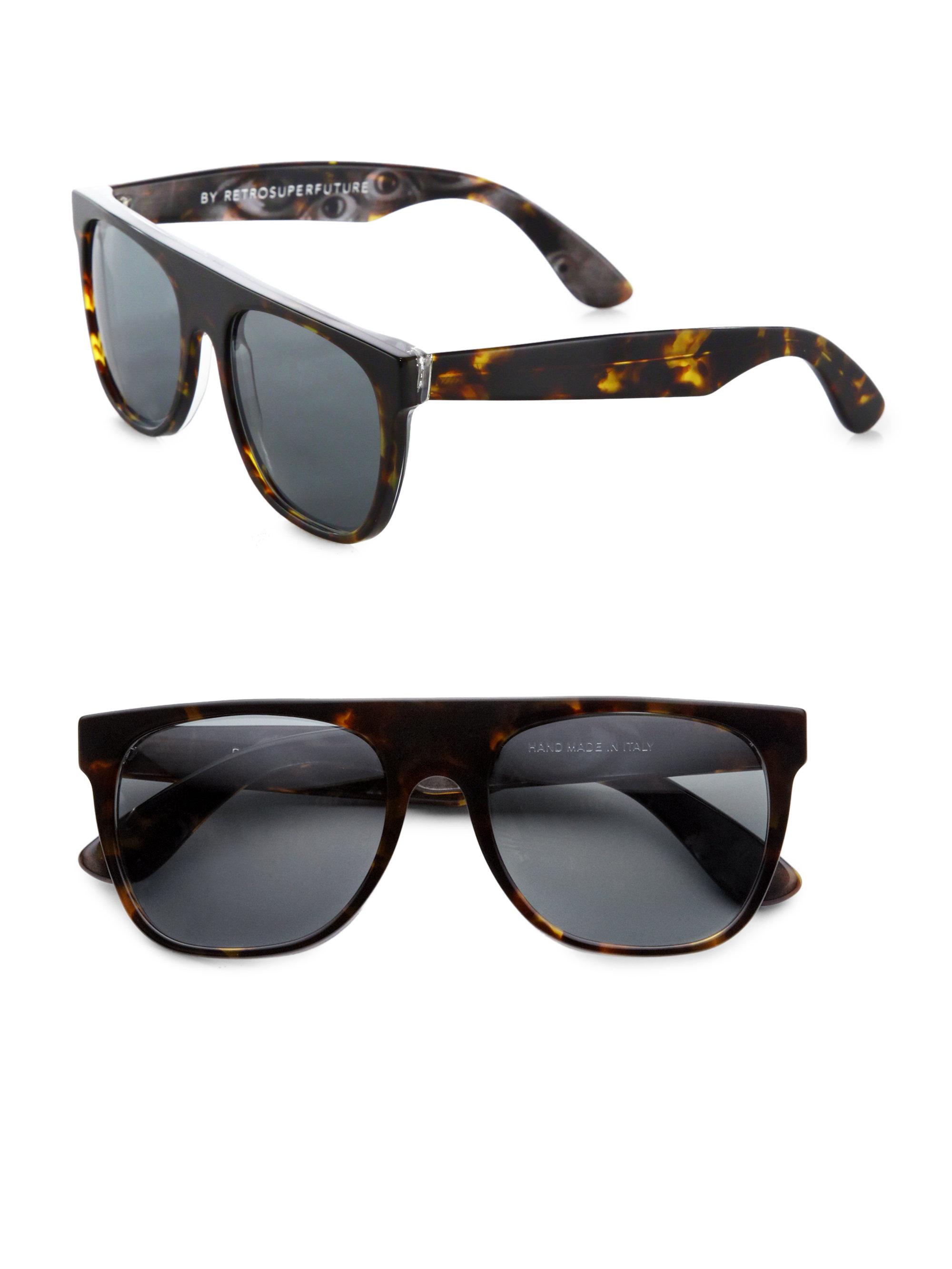 612518f6f6f Retrosuperfuture Flat-top Sunglasses Ebay