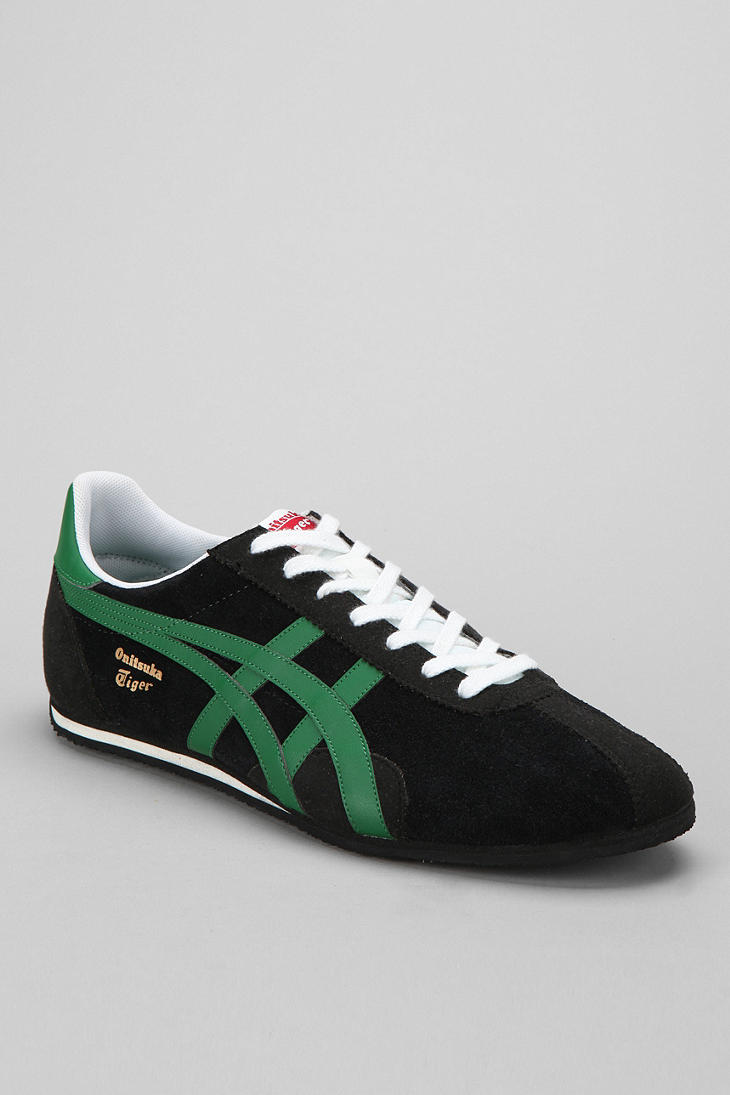 sports shoes f1e1d 0770e Urban Outfitters Black Asics Runspark Limited Edition Sneaker