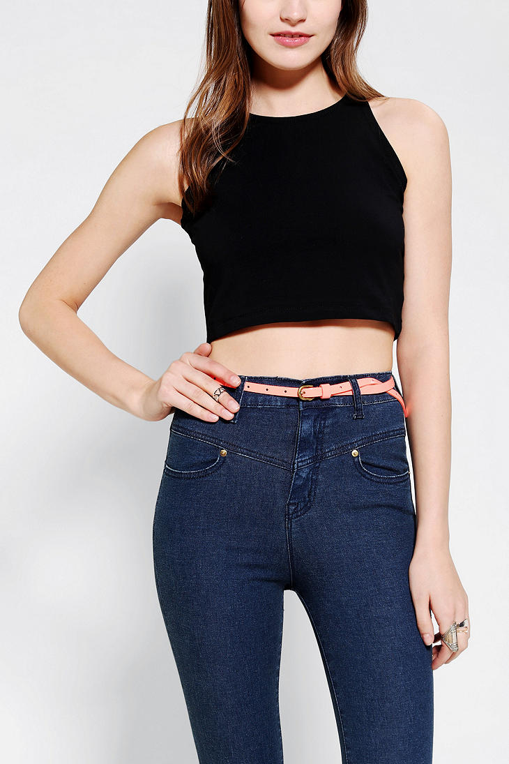 Get free shipping on Vince Striped Cotton Cropped Shell Tank, Military/Black at Neiman Marcus. Shop the latest luxury fashions from top designers.