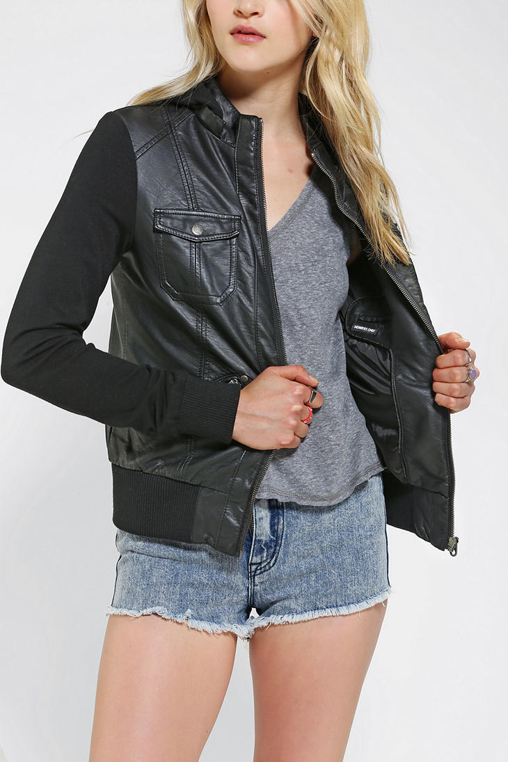 Leather jacket urban outfitters - Vegan Leather Jacket Urban Outfitters