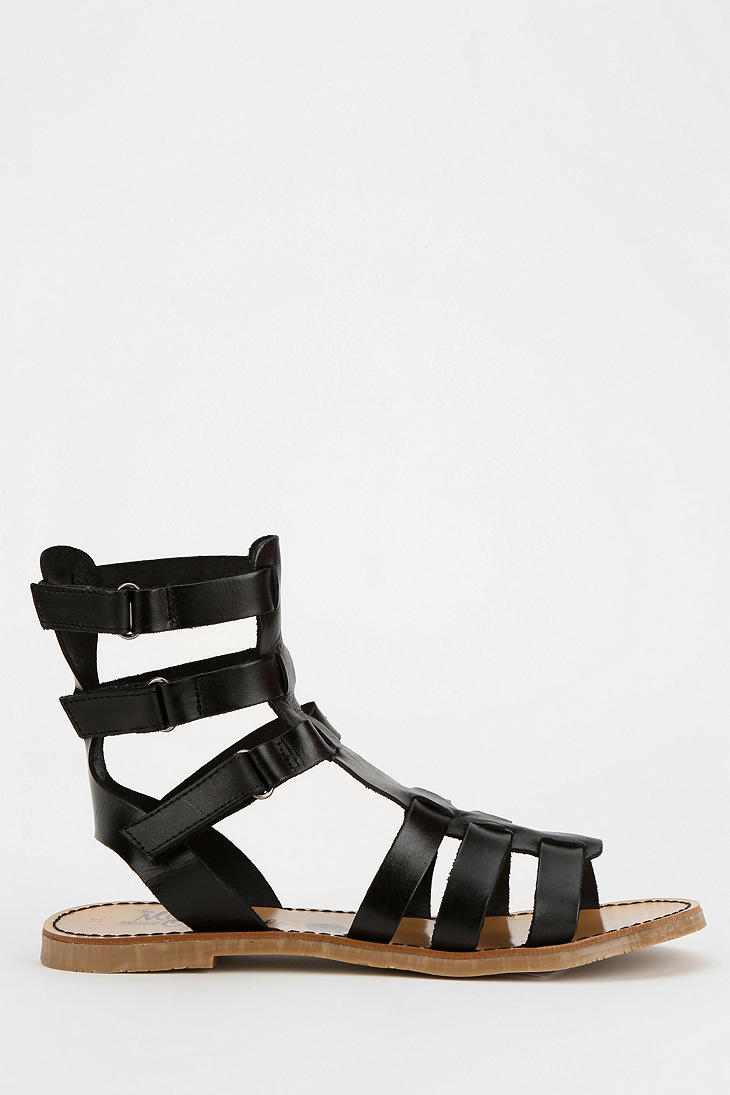 Lyst Urban Outfitters Caged Sandal In Black For Men