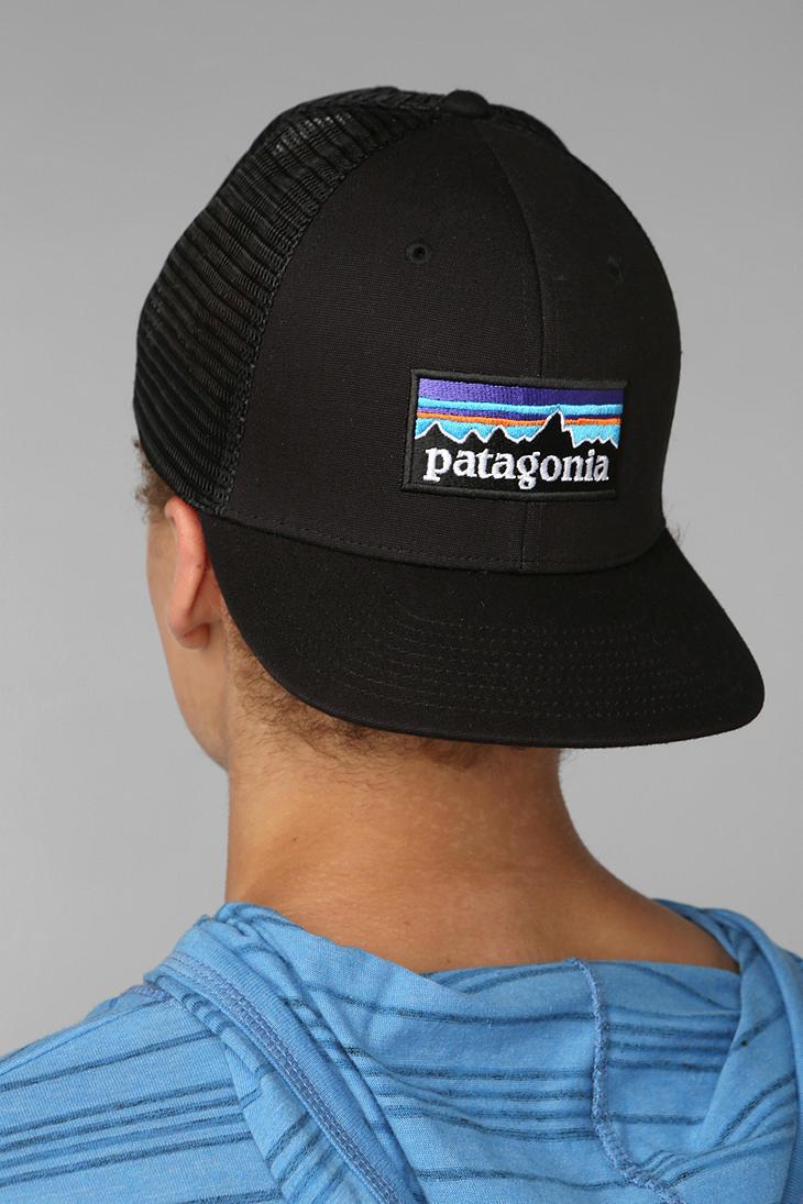 Lyst - Patagonia Trucker Hat in Black for Men 768620bf311c