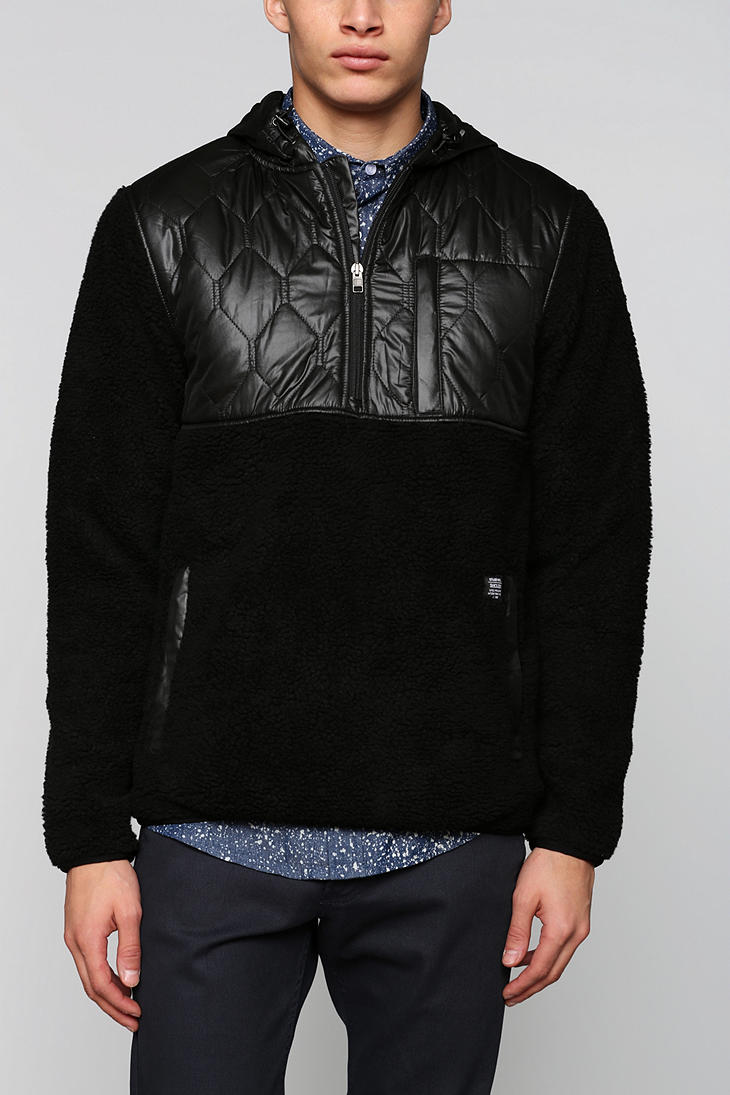 Urban Outfitters Stussy X Holden Pullover Hooded Jacket In