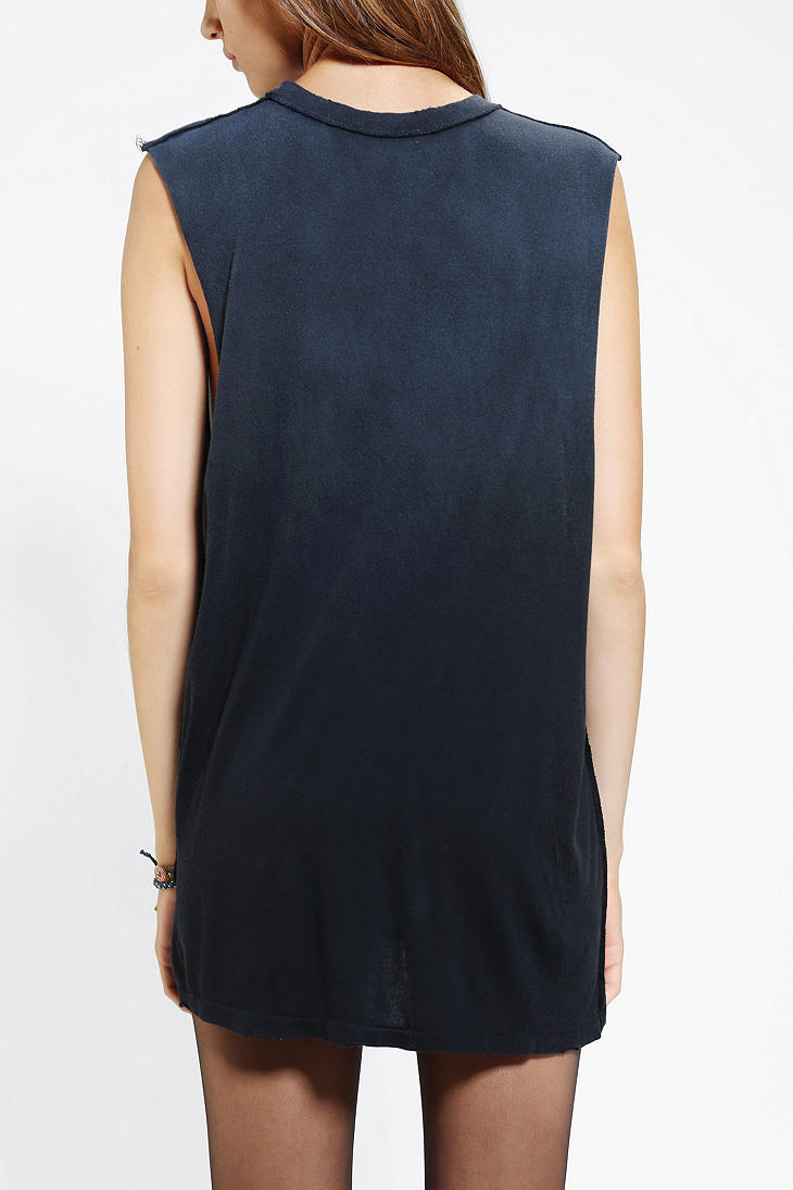 b20ac836 Urban Outfitters Unif Pray Party Muscle Tee in Black - Lyst