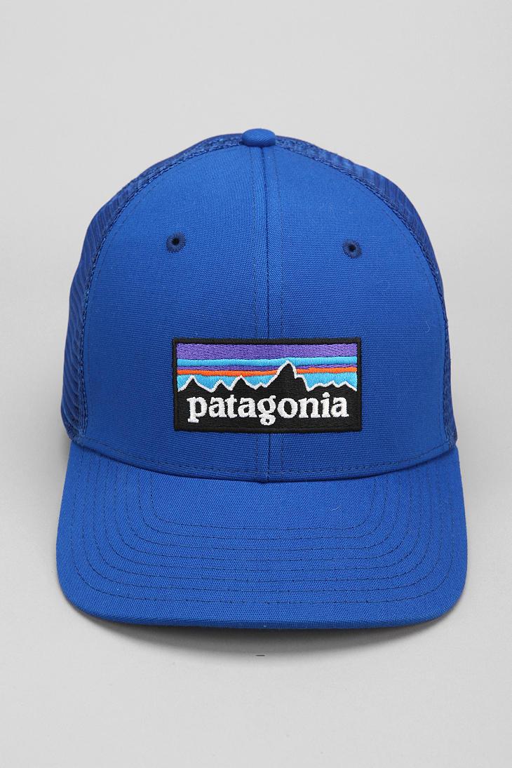 Lyst - Patagonia Trucker Hat in Blue for Men cae814fe317