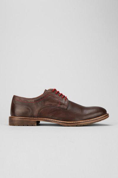 Ben Sherman Iley Black Leather Derby Shoes