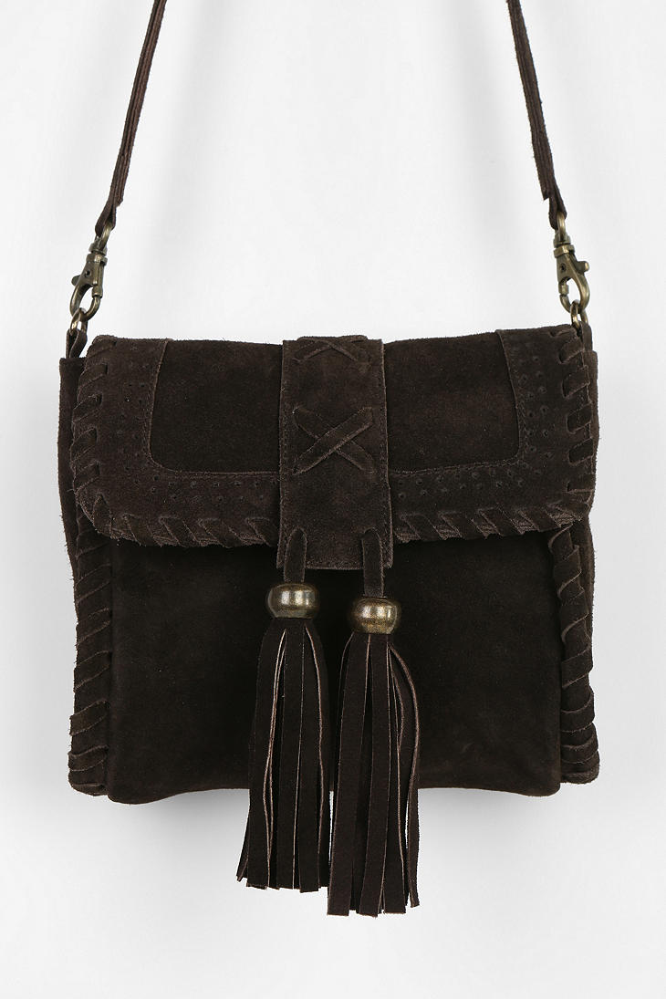 Urban Outfitters Ecote Tassel Crossbody Bag 57