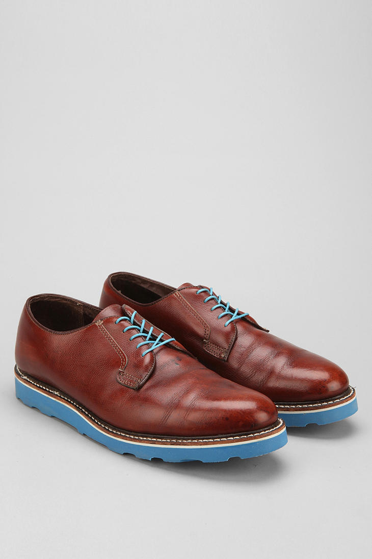 Urban Outfitters Urban Renewal Vintage Oxford Shoe In Brown For Men | Lyst