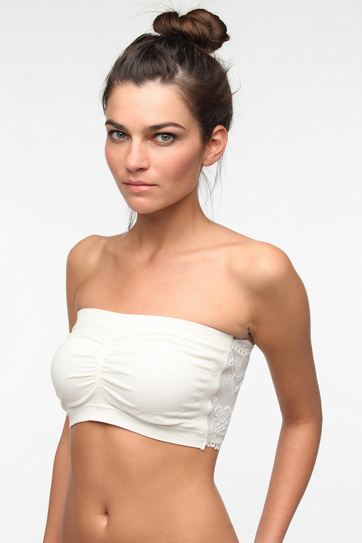 6488319d0a Urban outfitters Bdg Seamless Bandeau Bra in White