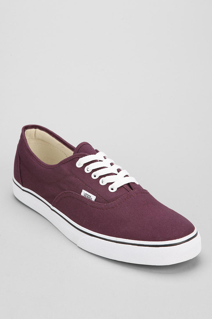 afd093cc4b4d Lyst - Urban Outfitters Vans Lpe Canvas Mens Sneaker in Purple for Men