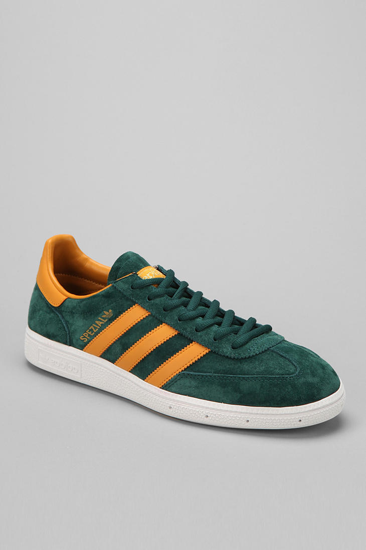 Urban Outfitters Adidas Spezial Suede Sneaker in Green for Men | Lyst