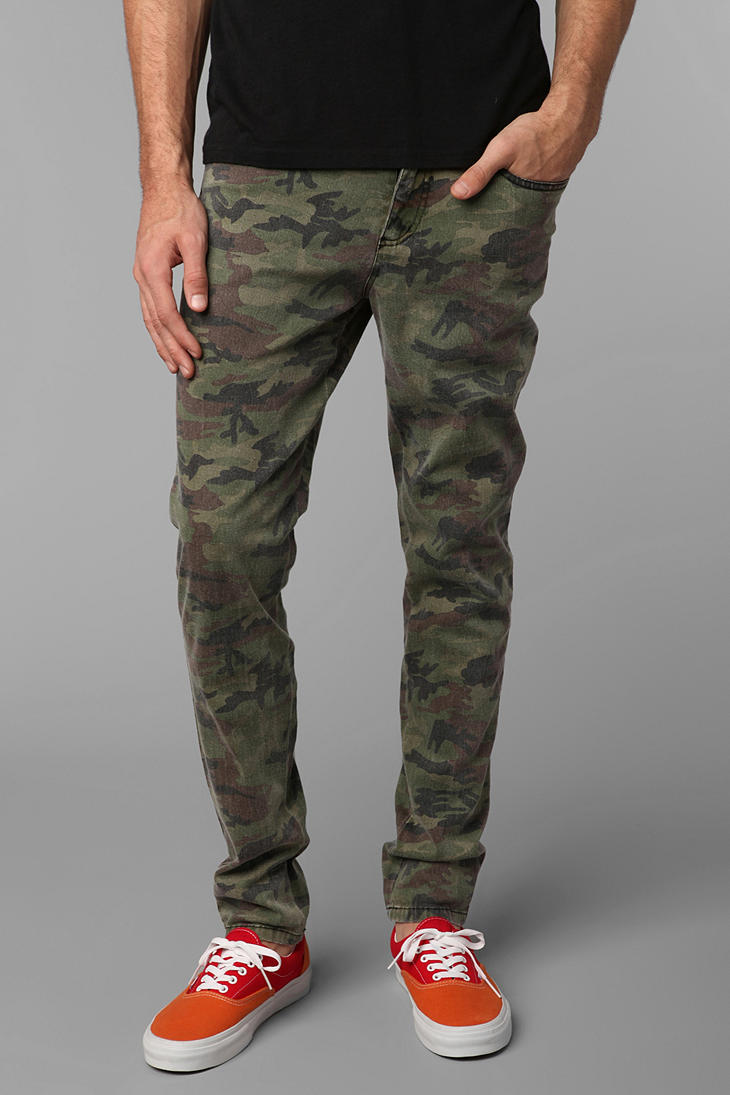 Tripp nyc Camo Rocker Pant in Green for Men | Lyst